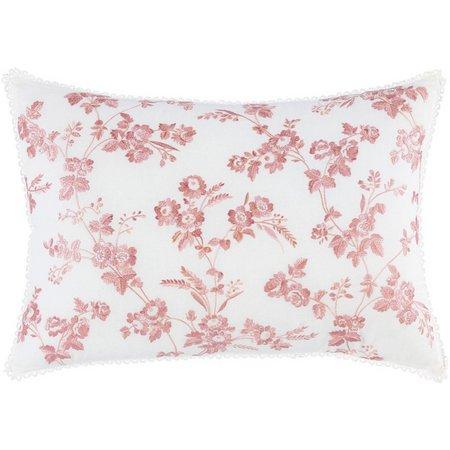 Laura Ashley Olivia Floral Breakfast Pillow