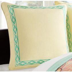 Echo Design Guinevere Euro Pillow Sham