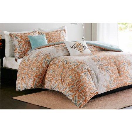 Intelligent Design Minet Coral Comforter Set