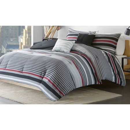 Intelligent Design Christopher Red Comforter Set