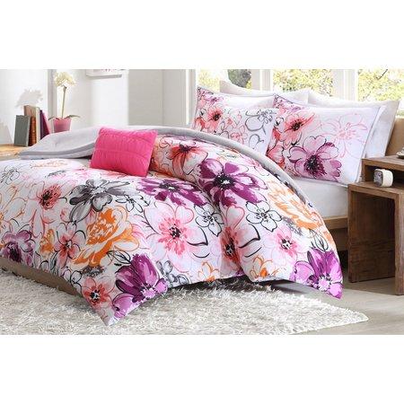 Itelligent Design Olivia Pink Comforter Set