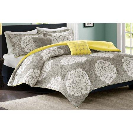 Intelligent Design Tanya Grey Comforter Set