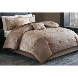 Madison Park Getty Taupe 7-pc. Comforter Set
