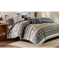 Madison Park Taos Black 7-pc. Comforter Set