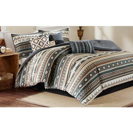 Madison Park Taos Black 7-pc. Comforter Set