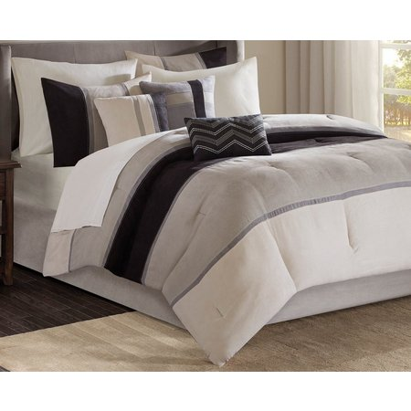 Madison Park Palisades Black 7-pc. Comforter Set