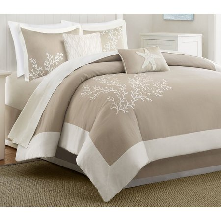 Harbor House Coastline Khaki 6-pc. Comforter Set