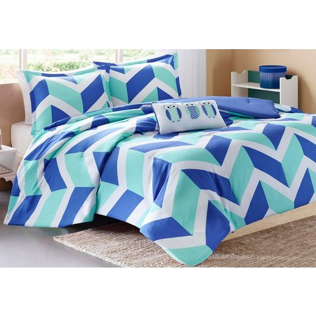 Mi Zone Billie Blue Comforter Set