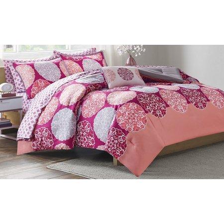 Itelligent Design Marissa Coral Comforter Set
