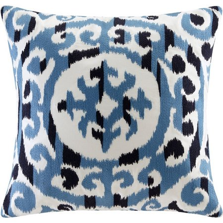 Ink & Ivy Mead Embroidered Decorative Pillow