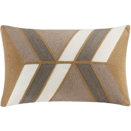 Ink & Ivy Aero Neutral Oblong Decorative Pillow