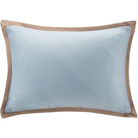 Madison Park Linen Oblong Decorative Pillow