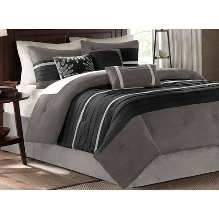 Madison Park Palmer Grey 7-pc. Comforter Set