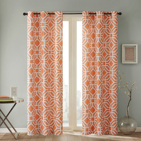 Intelligent Design Maci Microfiber Curtain Panel