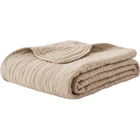 Madison Park Tuscany Oversized Quilted Throw