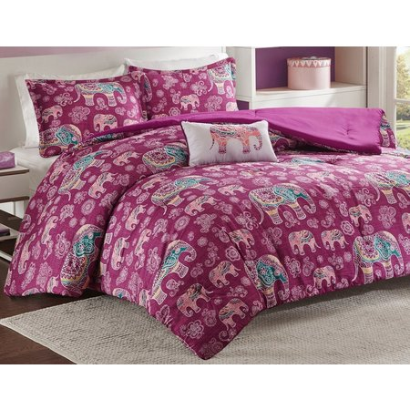 Mi Zone Elly Berry Comforter Set