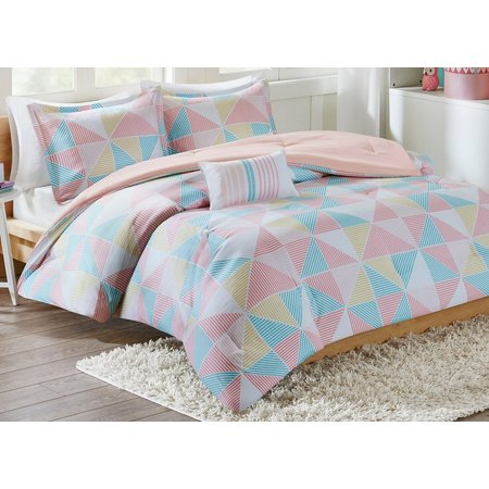 Mi Zone Charlie Pink Comforter Set