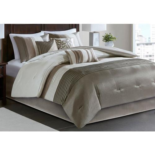 Madison Park Amherst Natural 7 Pc Comforter Set Bealls
