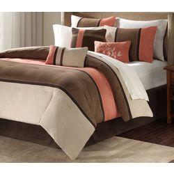 Madison Park Palisades Coral 7-pc. Comforter Set