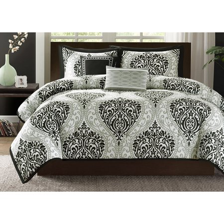 Intelligent Design Senna Black Comforter Set