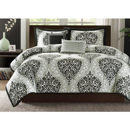 Intelligent Design Senna Black Comforter Set