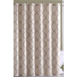 Madison Park Saratoga Beige Shower Curtain