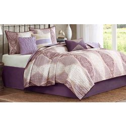 Madison Park Callaway 6-pc. Quilted Coverlet Set