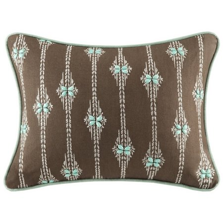Harbor House Miramar Embroidered Oblong Pillow