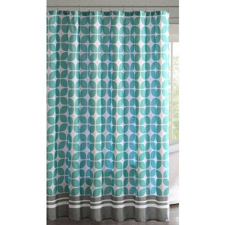 Intelligent Design Lita Printed Shower Curtain