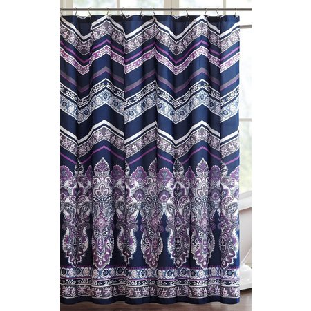 Intelligent Design Adley Printed Shower Curtain