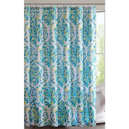 Intelligent Design Ari Printed Shower Curtain
