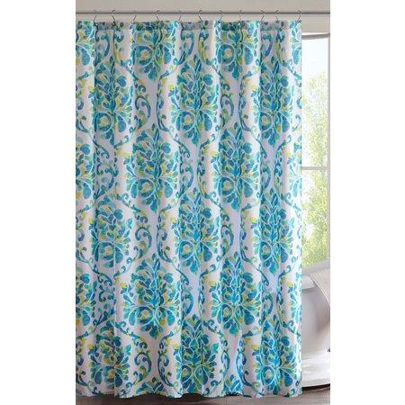 Intelligent Design Ari Printed Shower Curtain