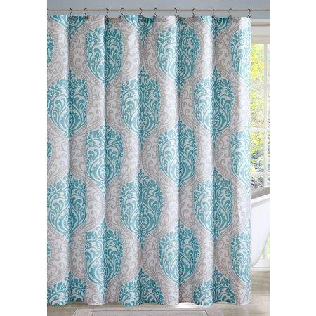 Intelligent Design Senna Aqua Shower Curtain