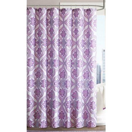 Intelligent Design Lionna Printed Shower Curtain