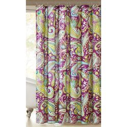 Intelligent Design Melissa Printed Shower Curtain