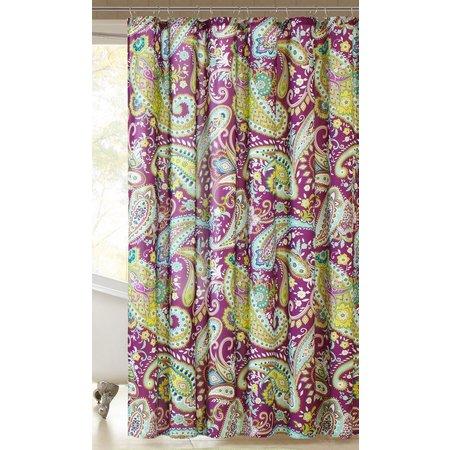 Intelligent Design Melissa Printed Shower Curtain