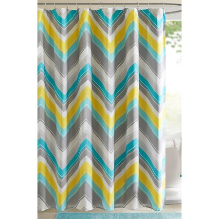 Intelligent Design Elise Printed Shower Curtain
