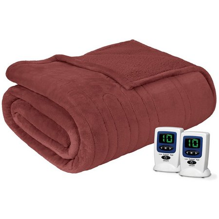 Beautyrest Microlight Heated Blanket