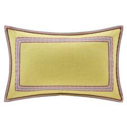 Echo Design Ishana Embroidered Decorative Pillow
