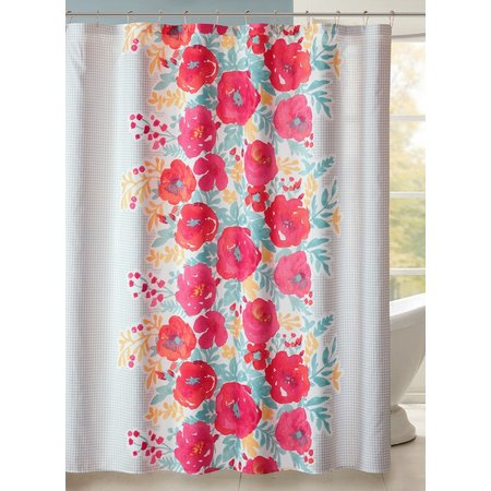 Intelligent Design Elodie Shower Curtain