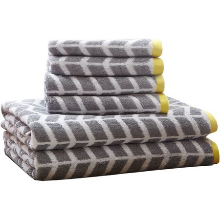 Intelligent Design Nadia 6-pc. Towel Set