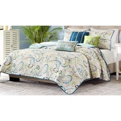 Madison Park Tamira 6-pc. Quilted Coverlet Set