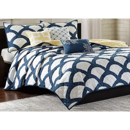 Madison Park Kokomo 6-pc. Quilted Coverlet Set