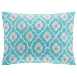 Echo Design Teal Madira Square Decorative Pillow