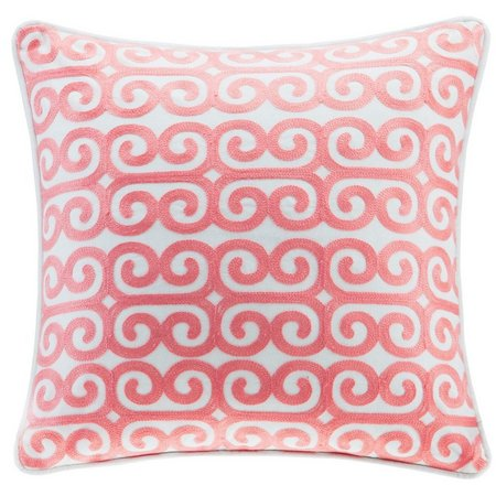 Echo Design Avalon Embroidered Decorative Pillow