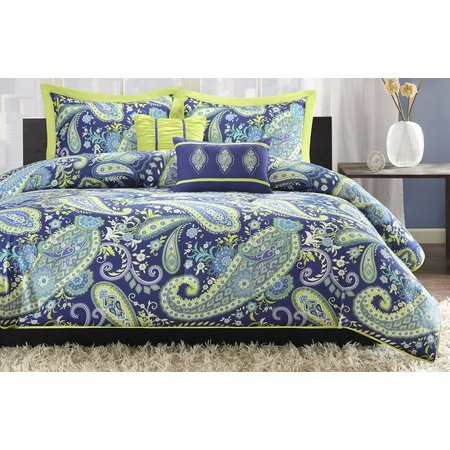 Intelligent Design Melissa Blue Comforter Set
