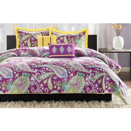 Intelligent Design Melissa Purple Comforter Set