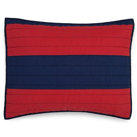 IZOD Nottingham Stripe Standard Pillow Sham