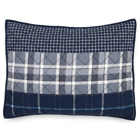 IZOD Riviera Plaid Standard Pillow Sham