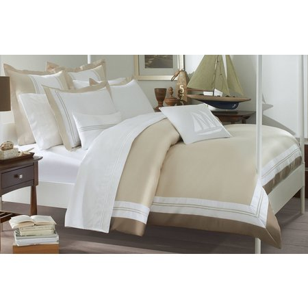 Southern Tide Maritime Sand King Duvet Cover